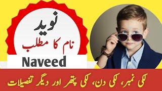 Naveed Name Meaning In Urdu   Naveed Naam Ka Matlab   Top Islamic Name  