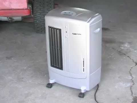 KuulAire Portable Shop Garage Cooling Unit - YouTube