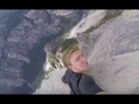 On the Edge of a HALF DOME! *Yosemite National Park*
