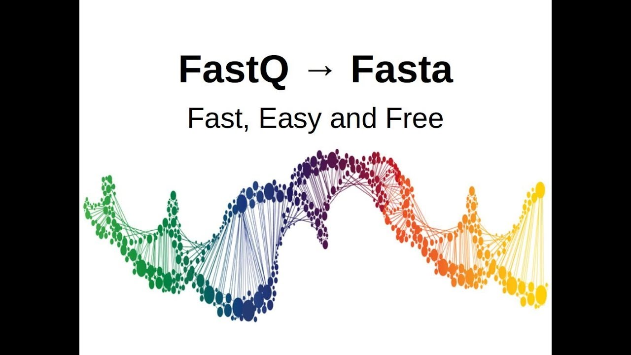 FASTQ to FASTA (Fast, Easy and Free) using linux terminal