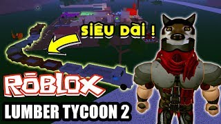 ROBLOX Lumber Tycoon 2 | The CHALLENGE of making the first wagon extends for in Lumber Tycoon 2