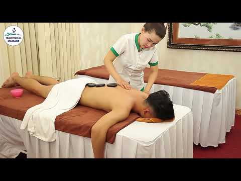 ASMR Hot Stone Massage Techinques for Men By Mr Traditional Massage's Wife