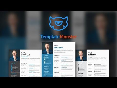 Paul Hoffman - Resume & CV Template #65458