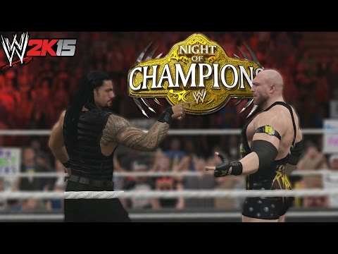 WWE 2K15 Gameplay - Torneo - Tag Team Championship  - Ryback y Roman Reigns
