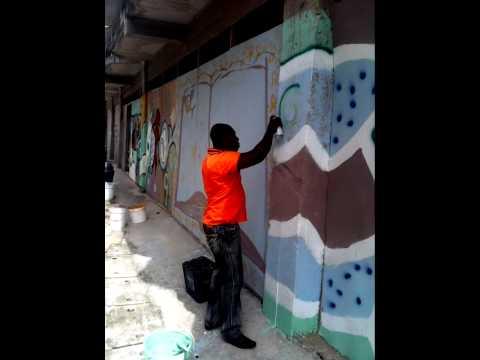 Street art in ghana by sarpng on kosados arena htl