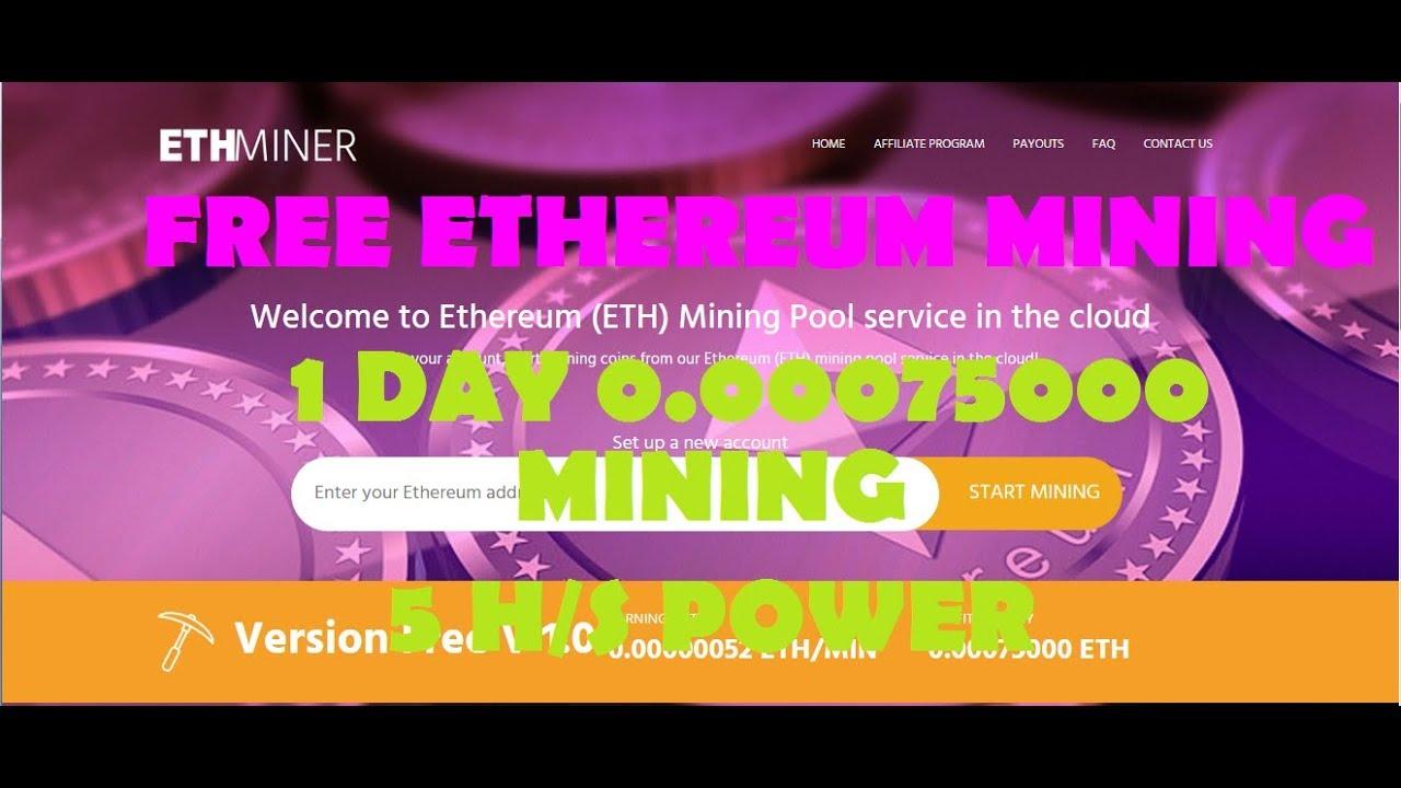 FREE ETHEREUM MINING |BONUS 5 H/s FREE | NO INVESTMENT | tamil