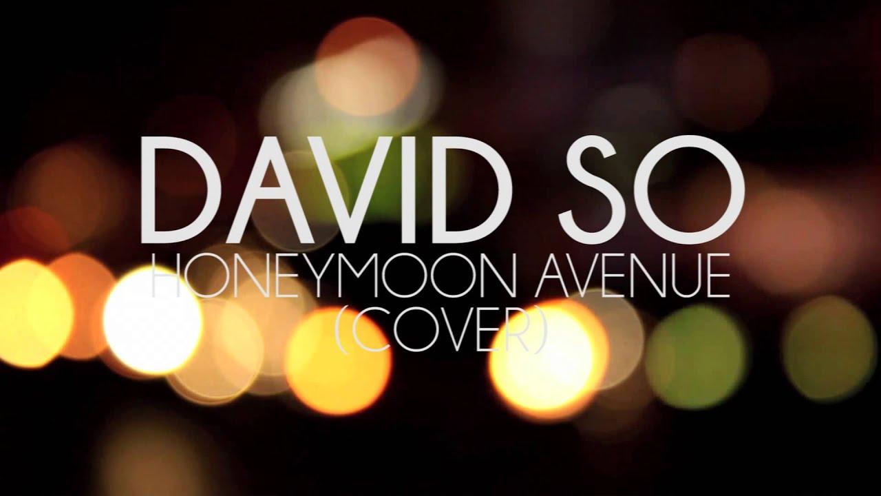 David So - Honeymoon Avenue (Cover)