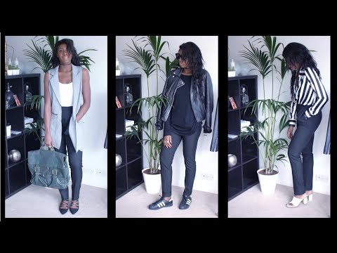 3 WAYS TO WEAR   TAILORED TROUSERS