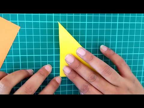 DIY Paper Decor Triangle   Pyramid Shape Paper Decor   Triangle Box ( Easy & Simple )