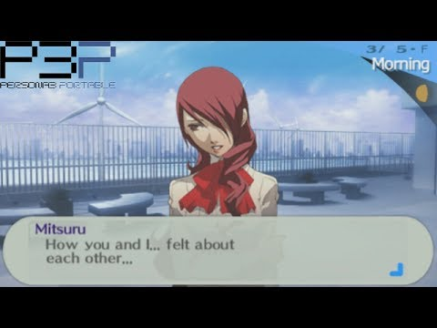 Persona 3 portable male dating