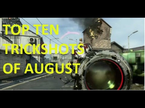 TOP TEN BO3 TRICKSHOTS OF AUGUST