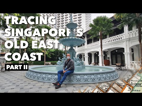 Singapore's former east coast (Part 2): Sea walls, useless forts and tiffin at Raffles (騎老布探索前東海岸)