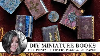 🖌 DIY Miniature Books 📚