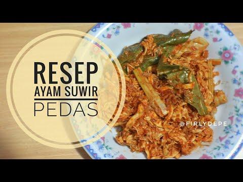 resep-ayam-suwir-pedas