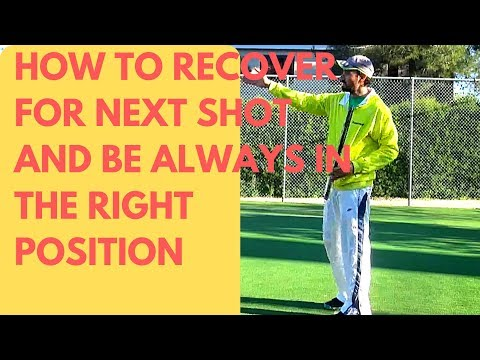 How to recover for the next shot