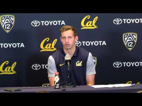 Cal Football: Davis Webb Press Conference (09/20/16)