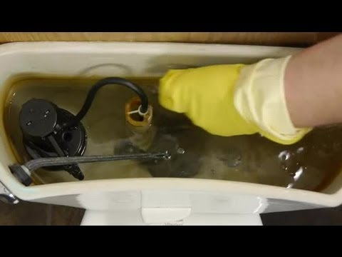 How to Get Rust Out of a Toilet Tank From Well Water : Toilet ...