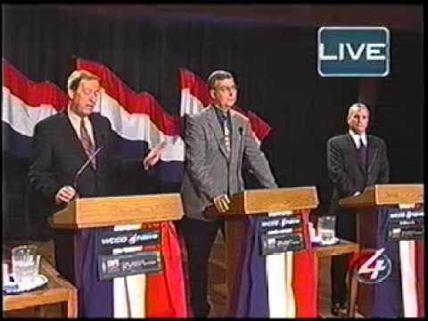 U.S. Senator Rod Grams on WCCO 2000 Candidate Debate w/Gibson, Swan, and Dayton