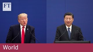 US-China in a 'rapidly escalating trade war'