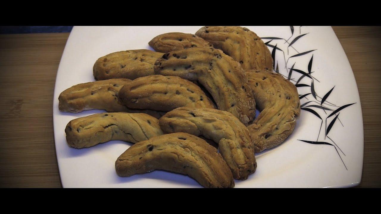 Ricetta Krumiri Con Gocce Di Cioccolato.Krumiri Con Gocce Di Cioccolato Youtube