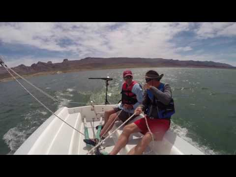 Catalina 16.5 Extreme Sailing 4-17-2017!