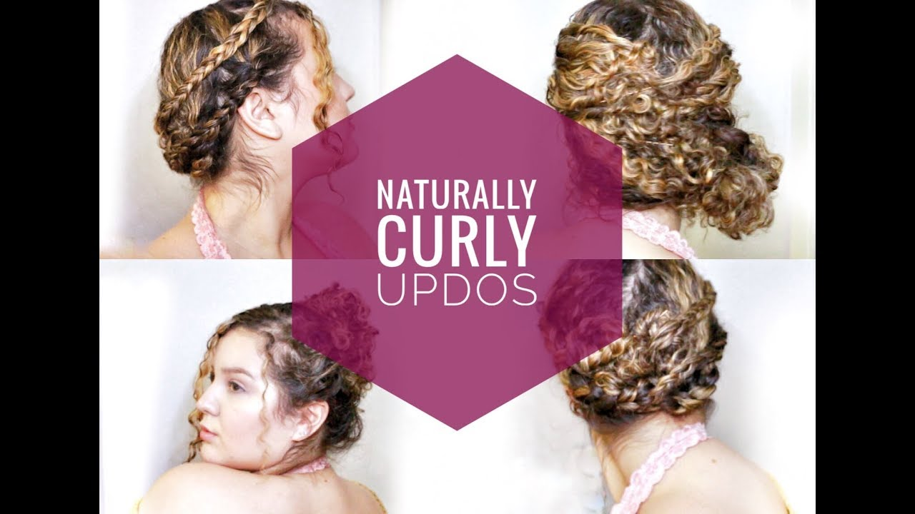 prom updo hairstyles for natural curly hair | natural curly hairstyles | easy updo for natural hair