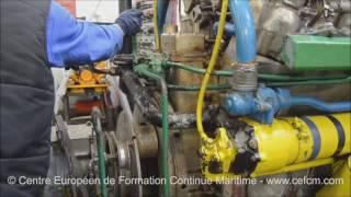 CEFCM - démarrage d'un moteur Baudouin
