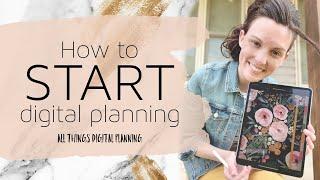 How to Start Digital Planning | Digital Planning 101