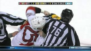 Gotta See It: Final minute sees Boston, Ottawa dissolve into line brawl