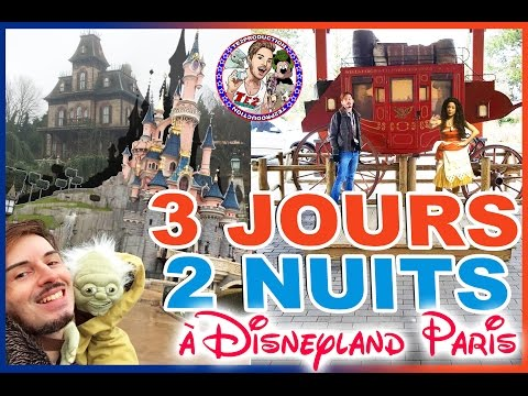 3 JOURS & 2 NUITS A DISNEYLAND PARIS !!!!