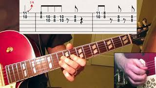 I re-edited my orignal Hound Dog guitar lessson video to include gu...