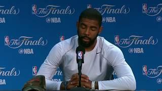 Kyrie Irving - Media Availability #2 - Game 5 | Cavaliers vs Warrriors | June 11, 2017 | NBA Finals