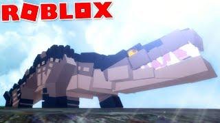 "Dinosaur Simulator (Roblox)-The legendary Blackodile, EPIC adventure! ""Deinosuchus""-(#77) (EN-BR)"
