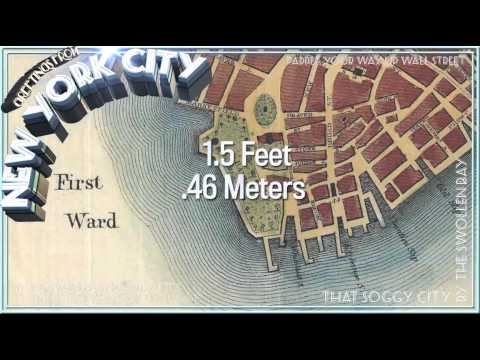 Manhattan Underwater: The Startling Rise of the Flooding Ris