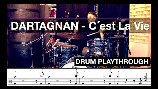 dArtagnan - C'est la vie (Mati.b_Drum Playthrough)