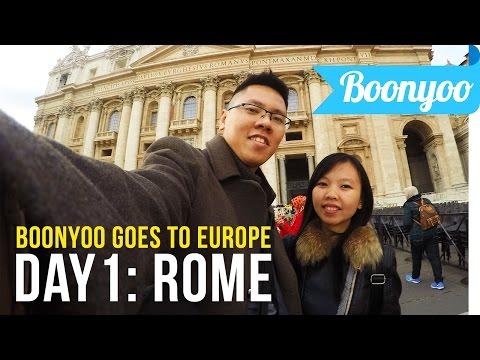 Europe Trip Day-1 (Jakarta, Abu Dhabi, Rome, Vatican)