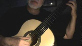 The Old Folks at Home (Swanee River) - Stephen Foster (Fingerstyle Guitar)