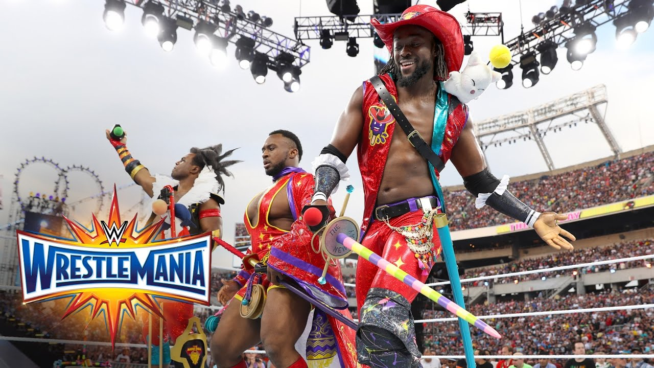 Download Watch the New Day kicking off the ultimate thrill ride, WrestleMania 33!