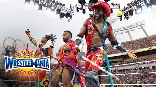 Watch the New Day kicking off the ultimate thrill ride, WrestleMania 33!