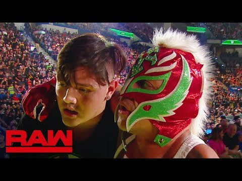 Rey Mysterio To Relinquish The United States Championship: Raw, May 27, 2019