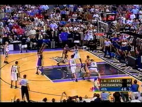 2002 Playoffs LA Lakers@Sacramento Game 7 HIGHLIGHTS