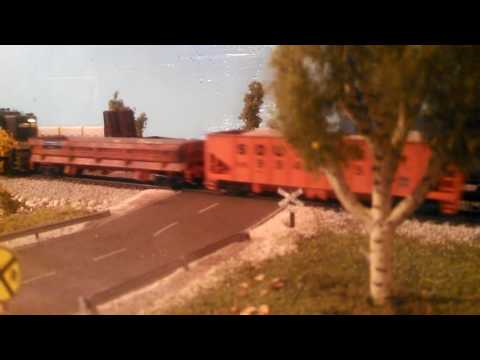 Southern Railway GP30 w/ MOW train