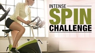 20 Minute Indoor Cycling Workout (INTENSE SPIN CHALLENGE!!)