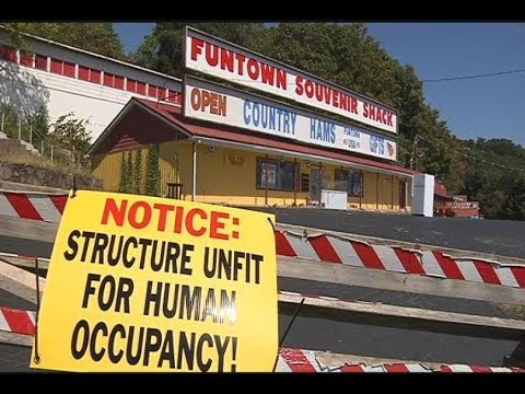 Abandoned Theme Park Funtown Mountain Update