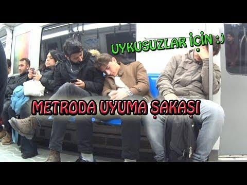 Metroda Uyuma Şakası ''İSTANBUL''