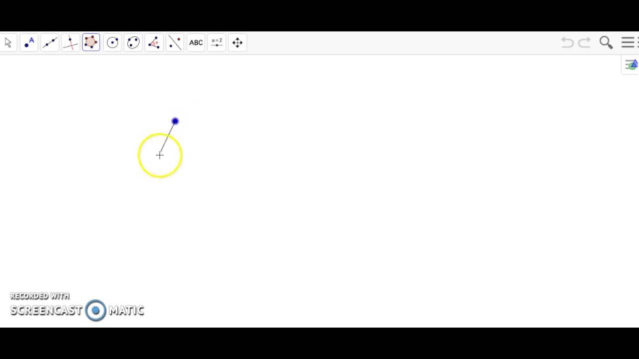 Creating a 15 Sided Regular Polygon Using GeoGebra
