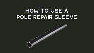 1x Alloy Tent Pole Repair Joiner Aluminium Rod Tube Replacement Connector Sleeve