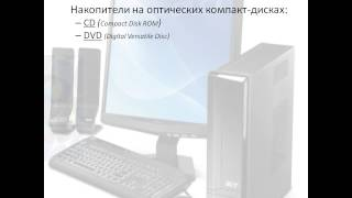 видео Современные носители информации