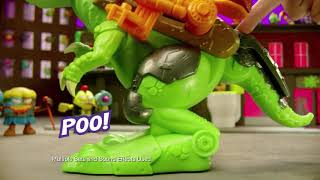 Grossery Gang | OFFICIAL Series 5 Time Wars TV Commercial | Trash-O-Saur