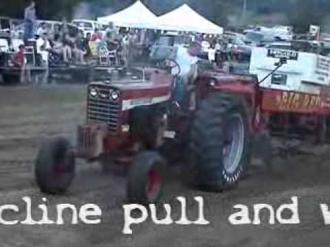 Pickrell, Nebraska Truck & Tractor Pull Part One: Tractors